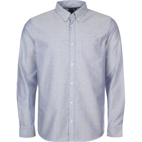 Elkline Cityguide Camiseta Manga Larga Hombre, azul